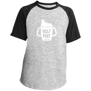 Pint/Half Pint Sippy Cup - Youth Raglan Jersey