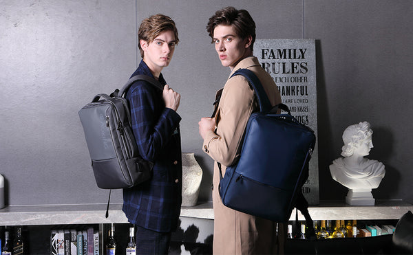 A Modern Urban Life with Office Backpacks