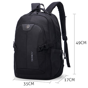 Spacious adult backpack