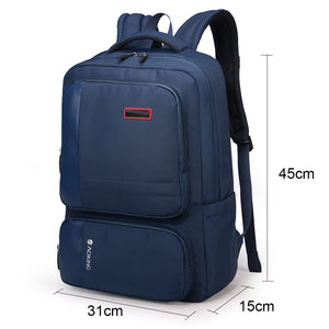 Comfort backpack with sponge layer