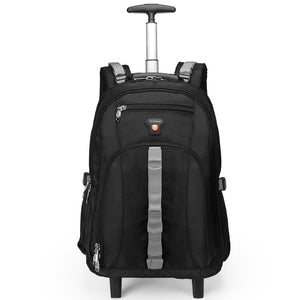 Aoking Travel Trolley Backpack Luggage Large Capacity Men's Trolley Bags Waterproof Luggage Carry-on Wheel Bags