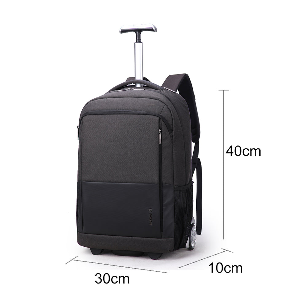 Large capacity travel backpack