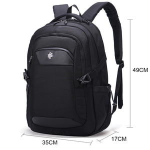 Aoking 2019 Men Waterproof Laptop Backpack Leisure Fashion Ergonomic Design Backpack High Quality Men's Backpack