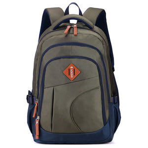 3 layers women's backpack