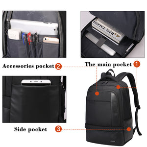 Business backpack with simple design