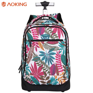 School bag with multi-layer back pad