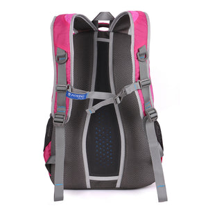 Safe daily backpack with adjustable chest buckle