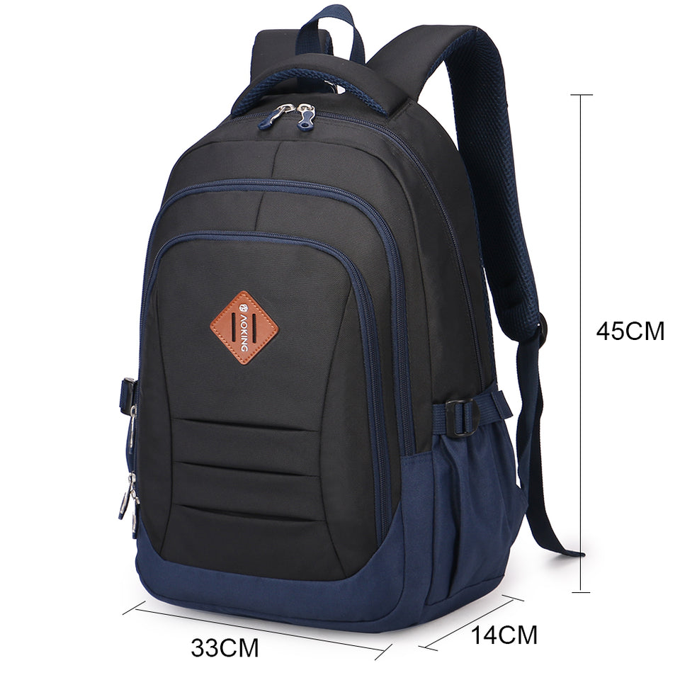 Spacious school bag with light weight