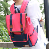 Ergonomic ventilated backpack for girl