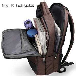 Bartack stitch travel bag with convenient pocket for hanging sunglasses