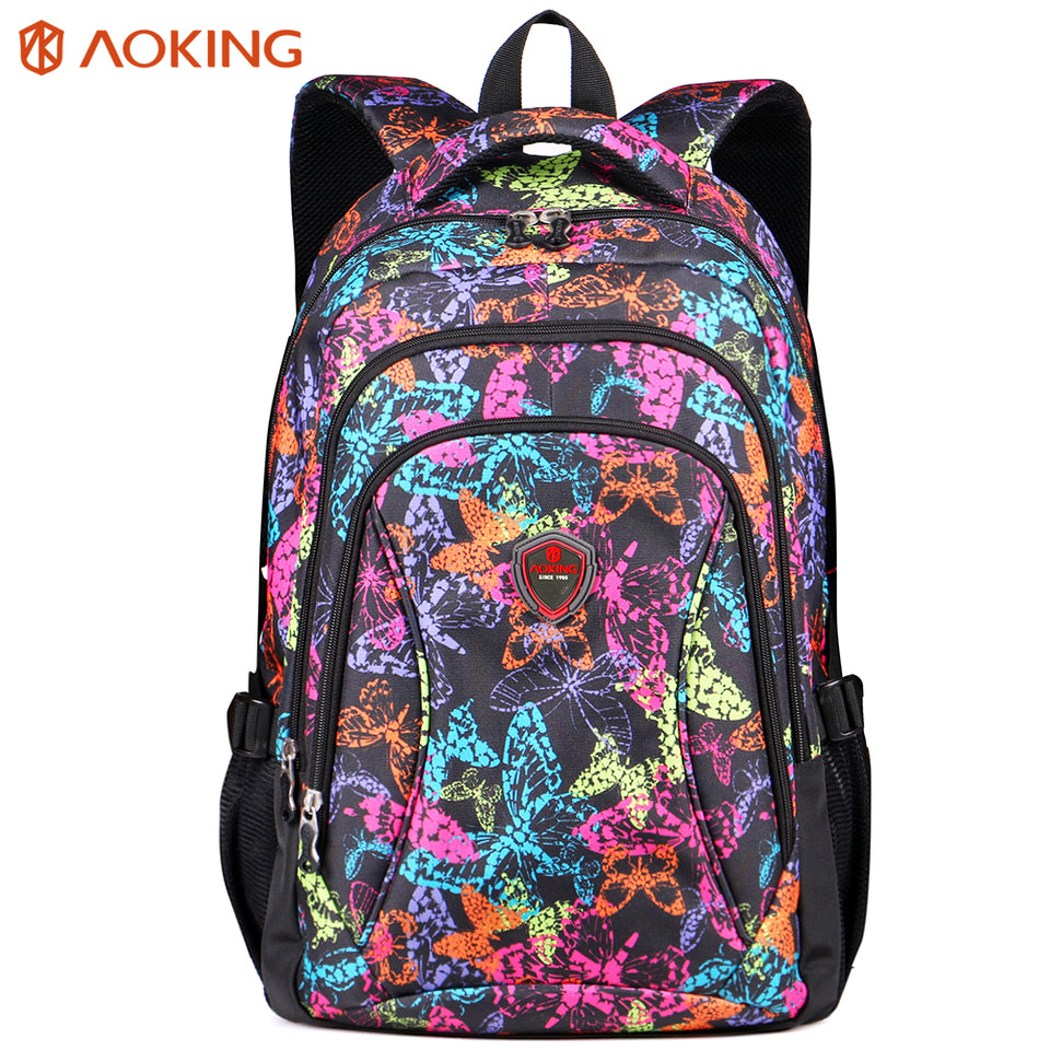 Comfort backpack with spongy back pad