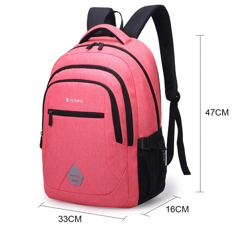 3 layer school backpack for daily using