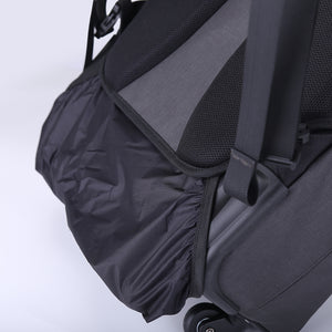 Trolley bag with rain cover