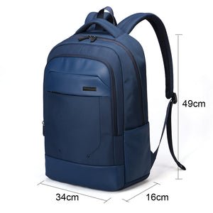 Large capacity business backpack with side pocket