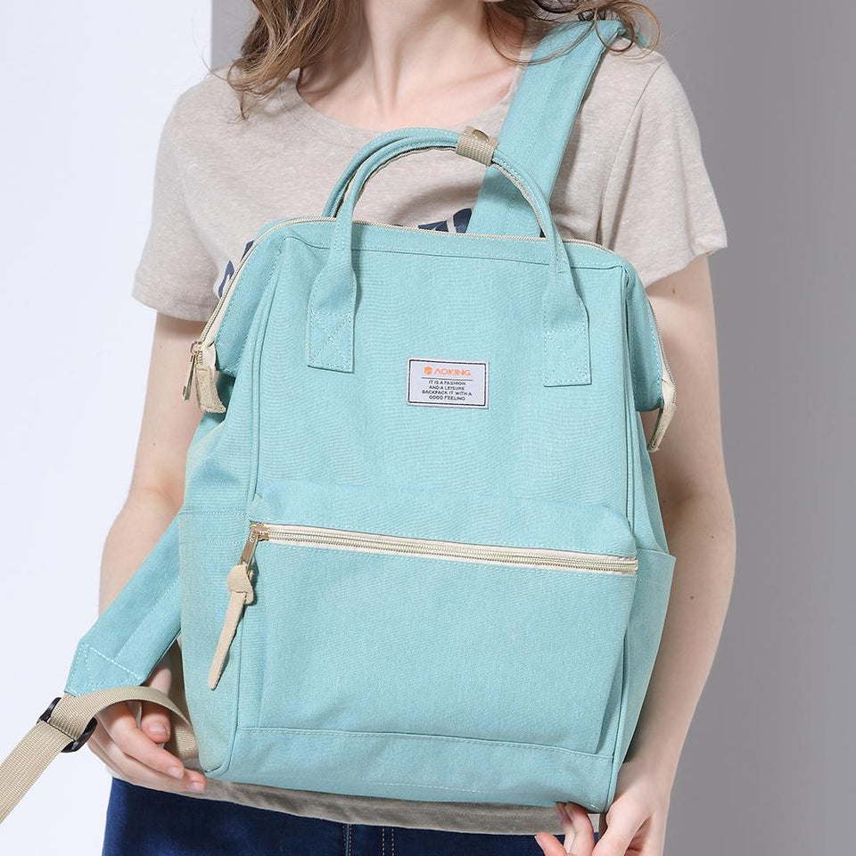 Daily campus canvas backpack