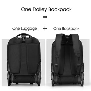 "Aoking Trolley Backpack SLN67751-10A 18"" 20"""