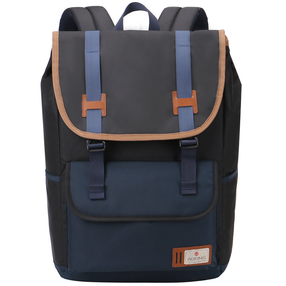 Safe school backpack with simple design for teens
