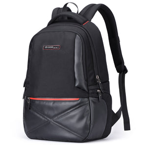 Aoking Waterproof Backpack 15.6 Laptop Nylon Travel Bag Large Capacity Men School Backpack Women Anti Theft with Back Tie Strap