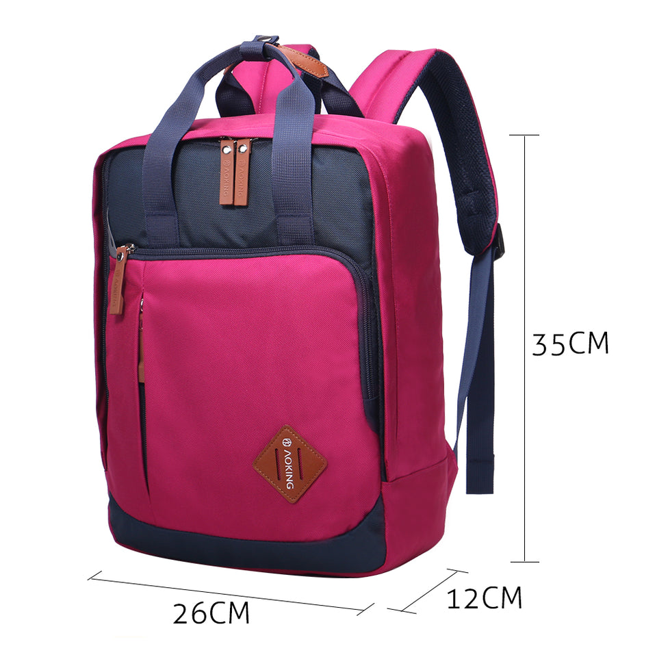 Spacious Korean style backpack for girls