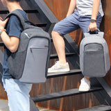 Travel backpack with convenient pocket