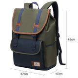 Korean style campus canvas school bag