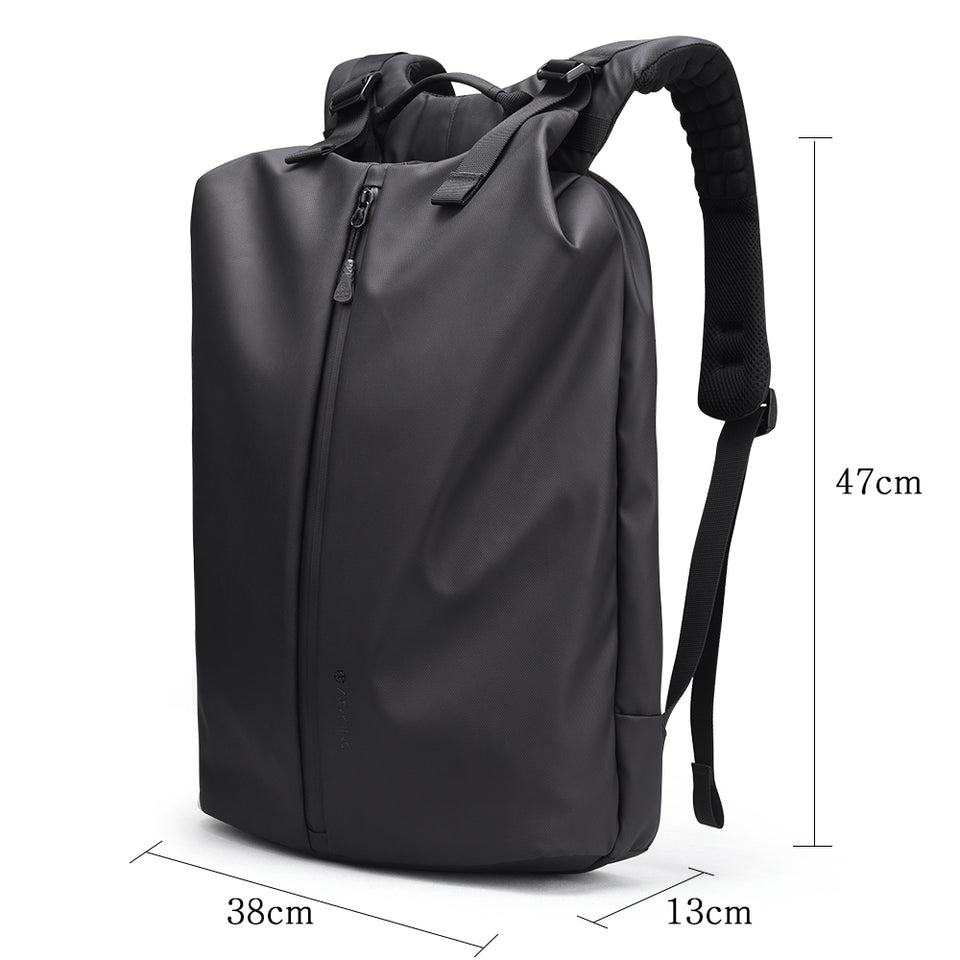 Spacious business backpack with simple design