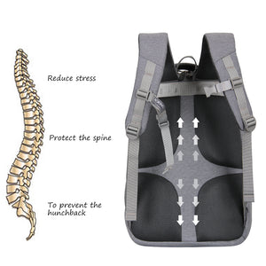Travel backpack with adjustable buckle