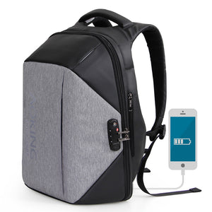 Aoking Multifunctional Anti thief Backpack Unisex Men's Travel TSA Lock Backpack Fashion College Schoolbags Luggage Backpack