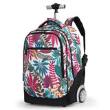 School girls trolley backpack