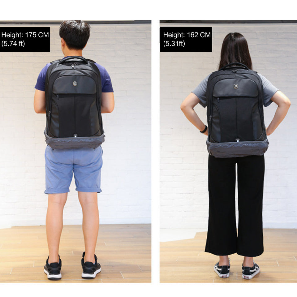 Backpack with interior insulation compartment
