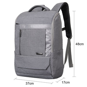 Korean business backpack with chest buckle