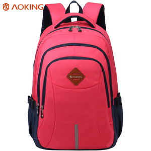 School backpack with bright fresh color