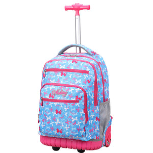 Luggage Backpack on Wheels for Kids