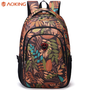 Backpack with breathable air cushion