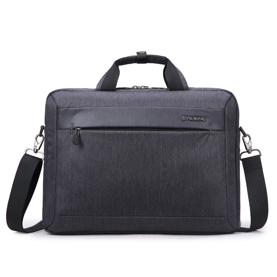 Polyester briefcase for laptop