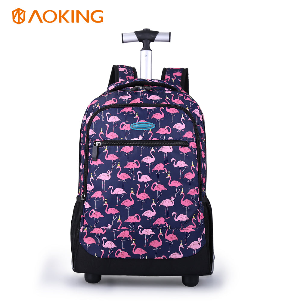 Waterproof Girls Trolley Bag