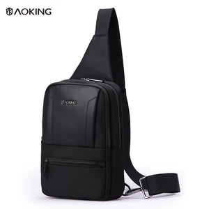 Aoking Lightweight Breathable Adjustable Male Crossbody Belt Bag