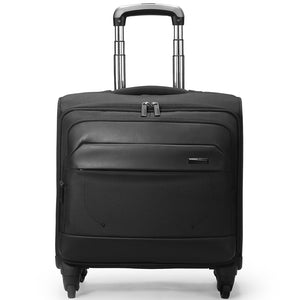 Rolling carry briefcase