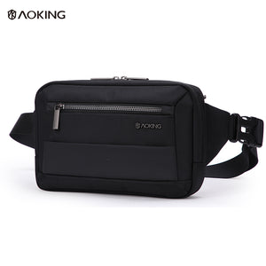 Aoking Lightweight Adjustable Mini Unisex Belt Bag