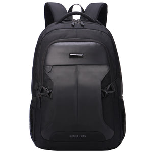Man's backpack business