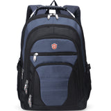 navy laptop backpack