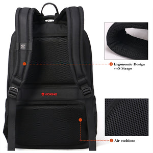 Ergonomic computer square backpack