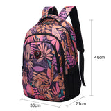 3 layer school backpack large capacity