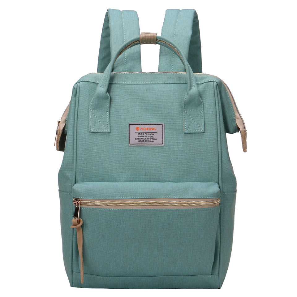 School bag with bright colors