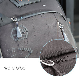 Waterproof backpack man