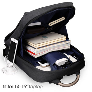26L Waterproof Anti-theft Backpack Man With External Portable USB Output And Convenient Pocket