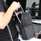 Cross shoulder sling laptop bag