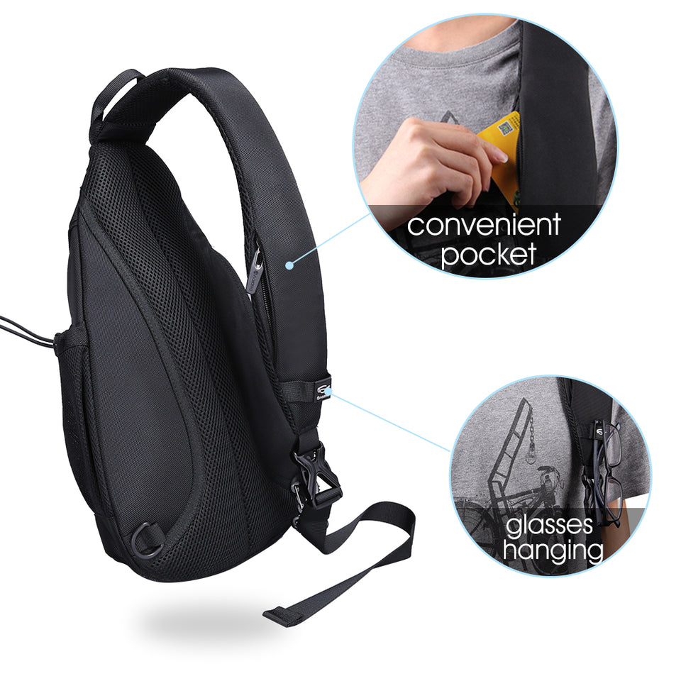 Waterproof travel daily cross-body bag