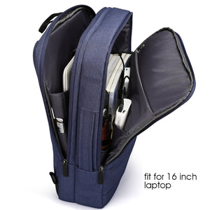 Ergonomic men's backpacks