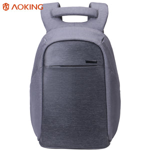 Spacious travel backpack for men